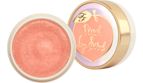 TOO FACED Peach Lip Scrub - Peaches and Cream Collection, lip scrub, London Loves Beauty