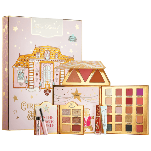 TOO FACED Christmas Cookie House Party - Limited Edition, Makeup Collection, London Loves Beauty