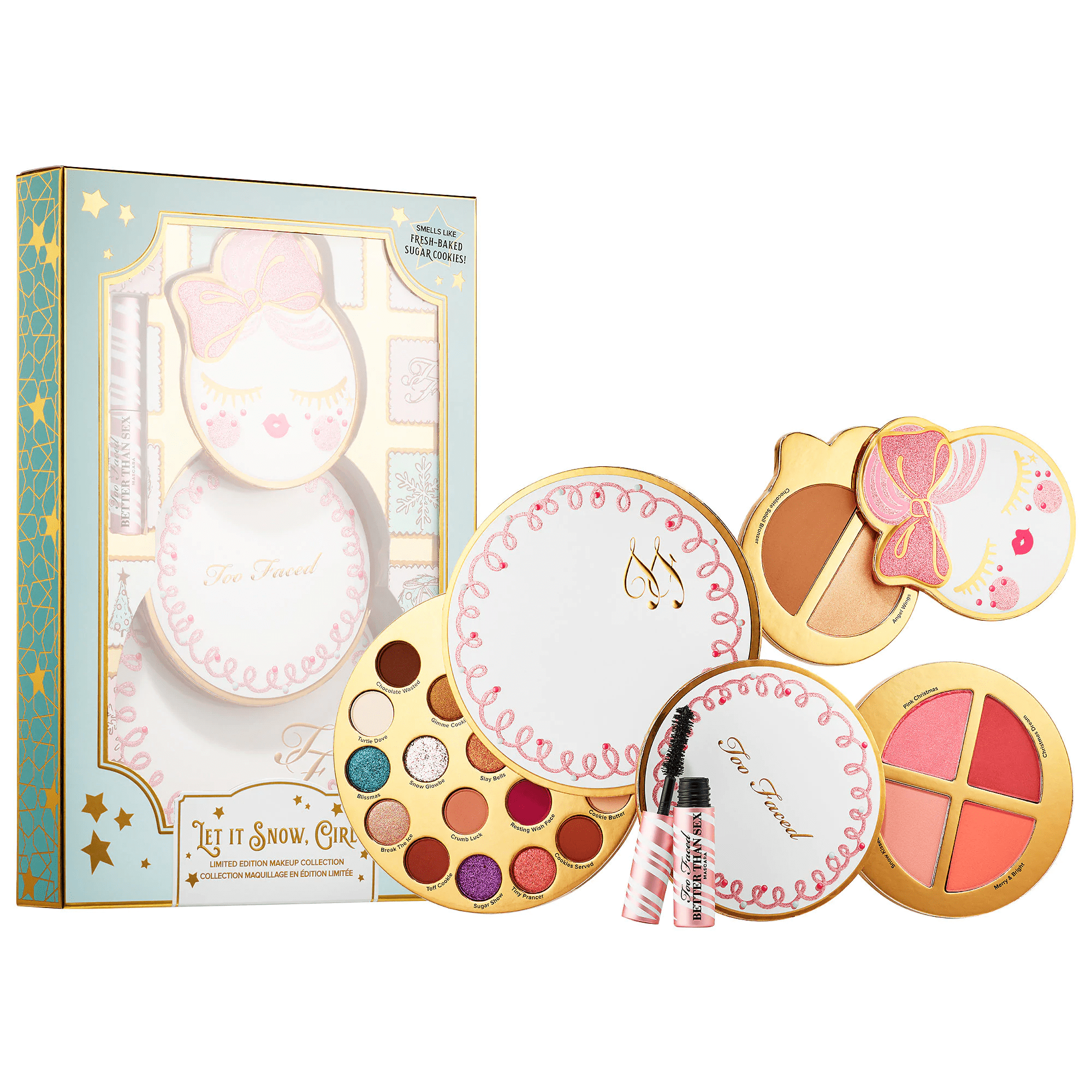 TOO FACED Let It Snow, Girl! - Limited Edition, Makeup Collection, London Loves Beauty