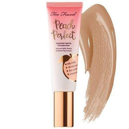 TOO FACED Peach Perfect Comfort Matte Foundation: Honey, Makeup, London Loves Beauty