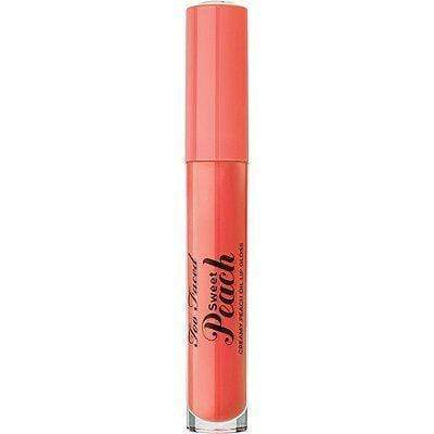 Too Faced Makeup Too Faced Sweet Peach Creamy Lip Oil: Peach Tease