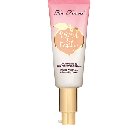 Too Faced primer TOO FACED Primed & Peachy Cooling Matte Perfecting Primer – Peaches and Cream Collection