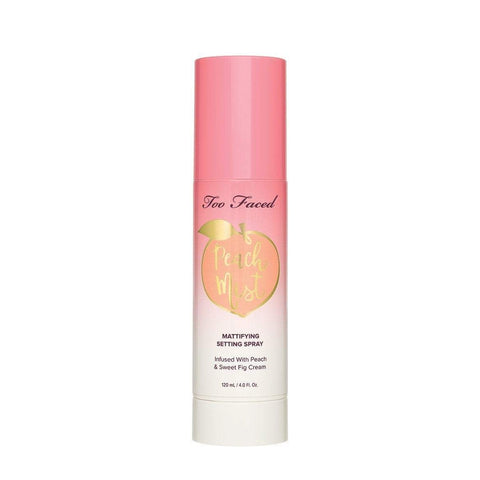 Too Faced Setting Spray Too Faced Peach Mist Mattifying Setting Spray – Peaches and Cream Collection