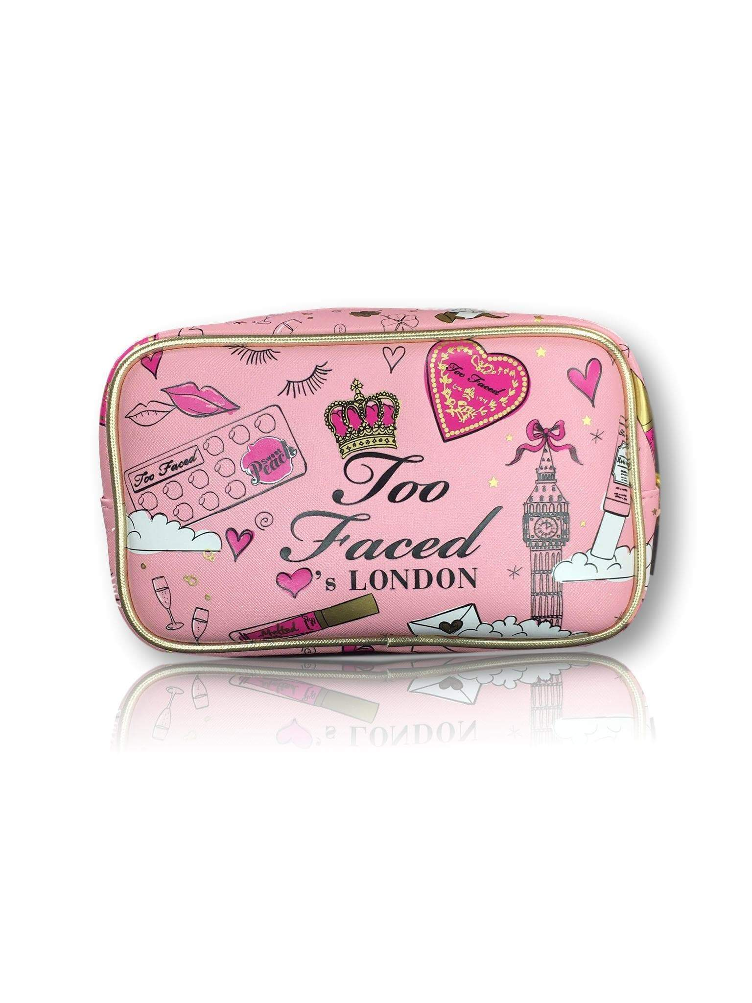 Too Faced Tools & Accessories Too Faced LVS London Makeup Bag - Limited Edition