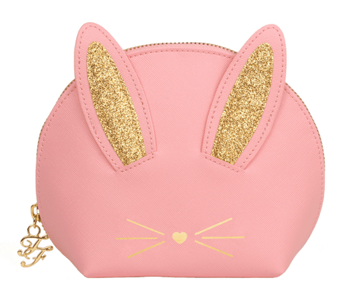 Too Faced Tools & Accessories Too Faced Pink Cool Not Cruel Bunny Makeup Bag