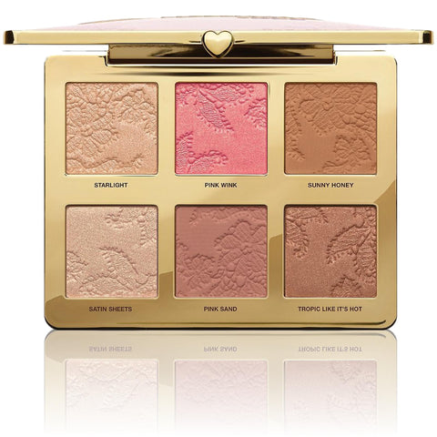 TOO FACED Natural Face Highlight, Blush, Bronzing Veil Face Palette