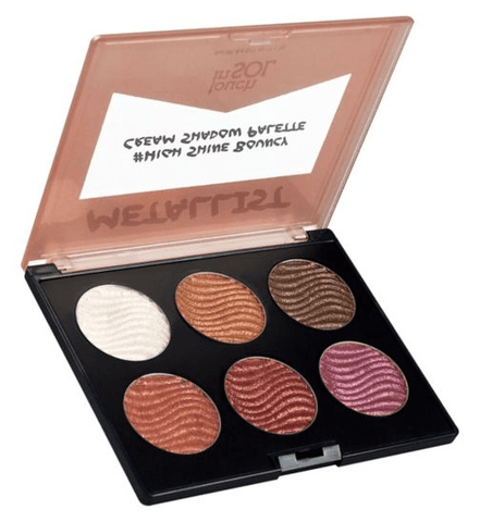 Touch In Sol eyeshadow palette Touch In Sol Metallist #High Shine Cream Shadow Palette