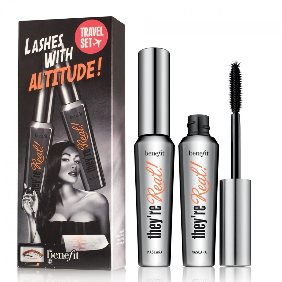 Benefit Cosmetics Lashes with Altitude!