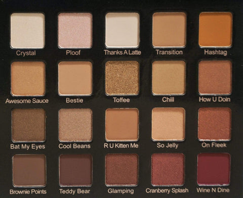 Violet Voss HG Eye Shadow Palette, eyeshadow palette, London Loves Beauty