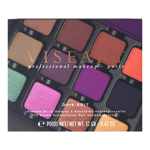 Viseart Eyeshadow VISEART Dark Edit Eye Shadow Palette
