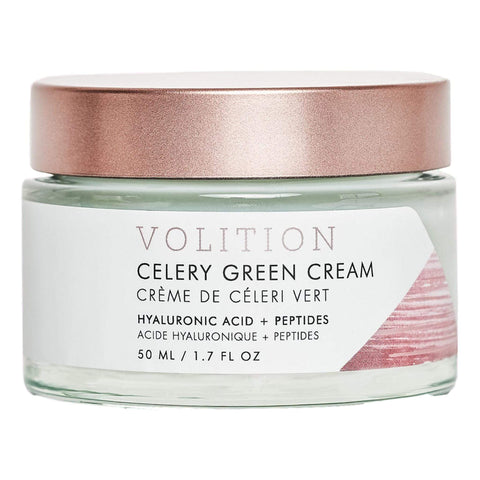 VOLITION BEAUTY Celery Green Cream, 50ml, Skin Care, London Loves Beauty