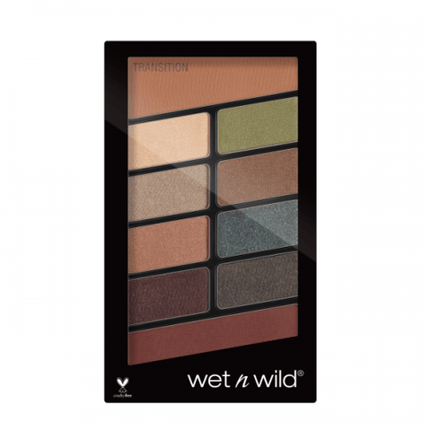Wet N Wild eyeshadow palette WET N WILD Colour Icon Eyeshadow 10 Pan Palette-Comfort Zone