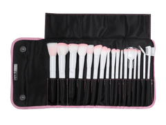 Wet N Wild Makeup Brushes WET N WILD Brush Roll 17 Piece Collection