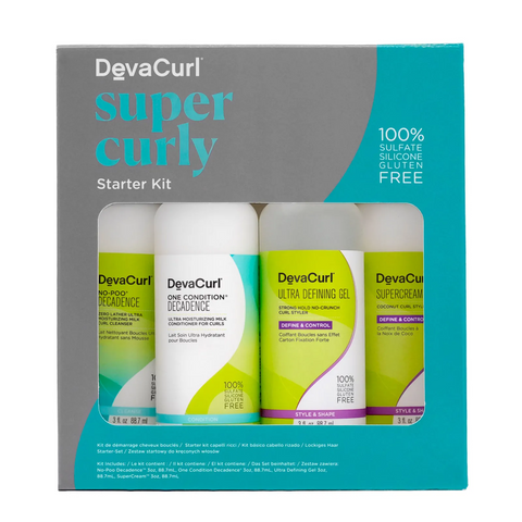 DevaCurl Super Curly Curls On The Go Kit, , London Loves Beauty