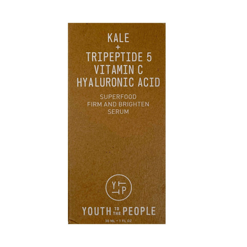 Youth To The People Superfood Firm and Brighten Vitamin C Serum, 30ml, Brightening Serum, London Loves Beauty