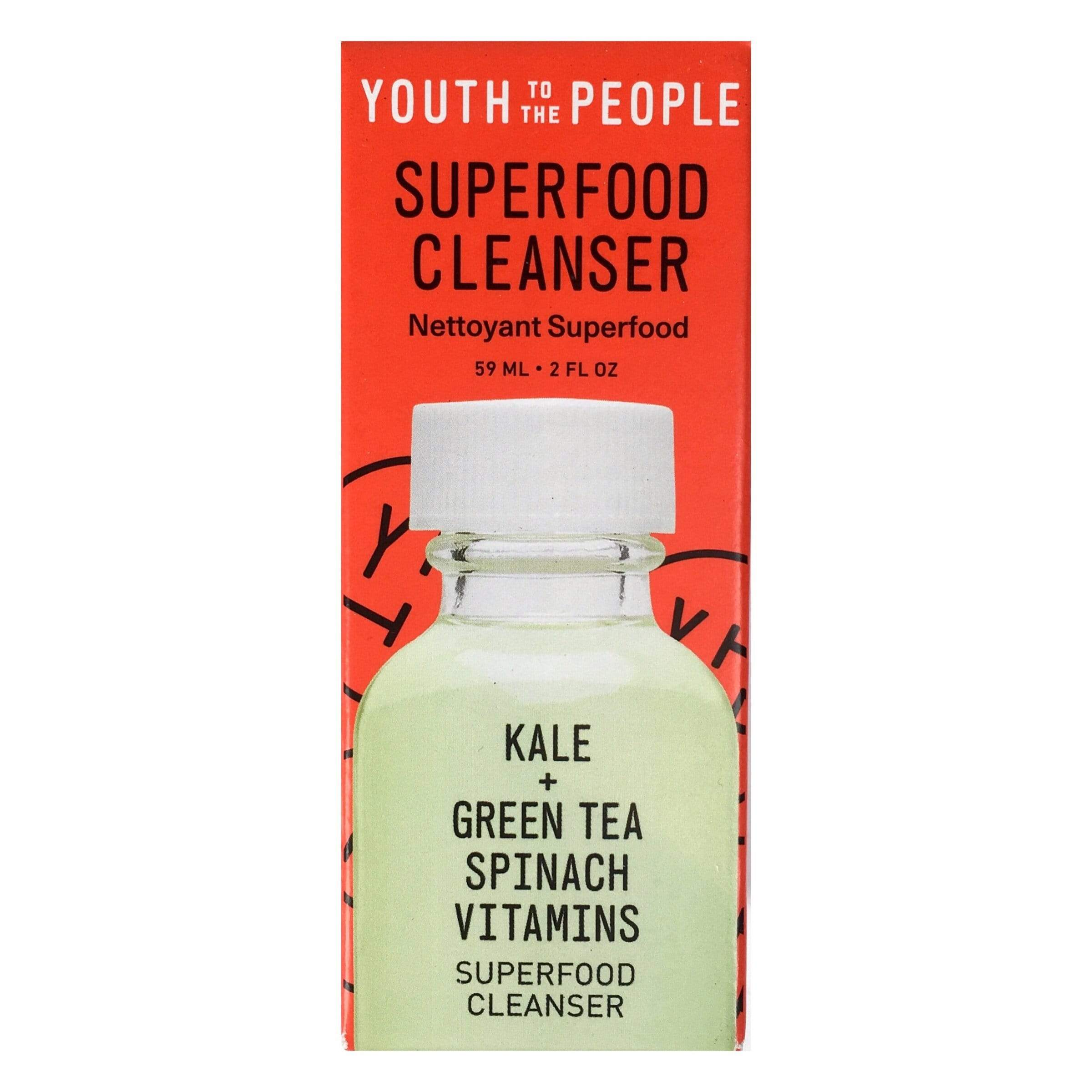 Youth To The People Superfood Antioxidant Cleanser, 2oz, cleanser, London Loves Beauty
