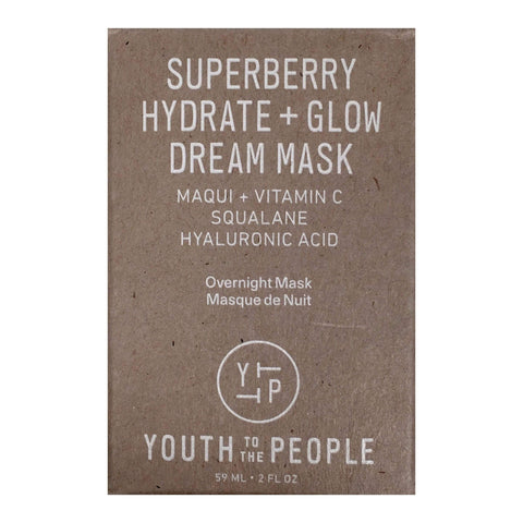 Youth To The People Face Masks Youth to the People Superberry Hydrate + Glow Dream Mask, 59ml