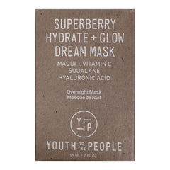 Youth to the People Superberry Hydrate + Glow Dream Mask, 59ml, Face Masks, London Loves Beauty