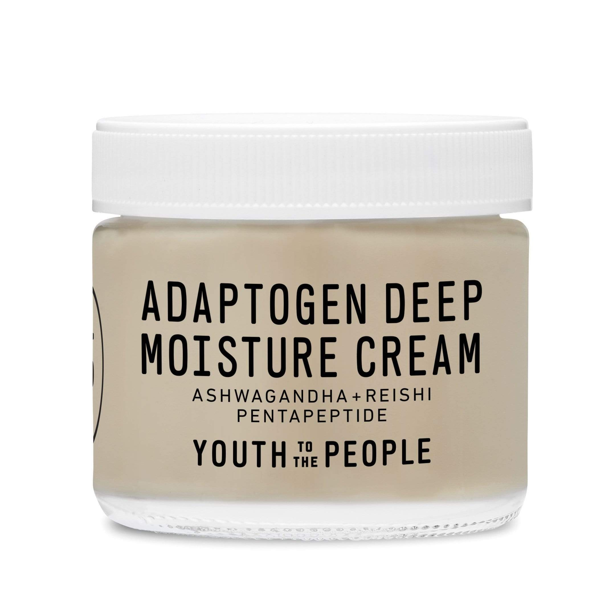 Youth To The People Adaptogen Deep Moisture Cream, 59ml, Moisturizer, London Loves Beauty