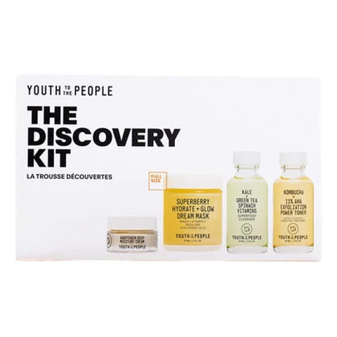 Youth To The People The Discovery Kit, Skin Care, London Loves Beauty
