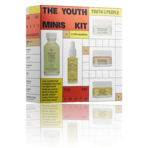 Youth To The People The Youth Minis Kit, Skin Care, London Loves Beauty