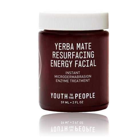 Youth To The People Yerba Mate Resurfacing + Exfoliating Energy Facial with Enzymes, 59 ml, Skin Care, London Loves Beauty