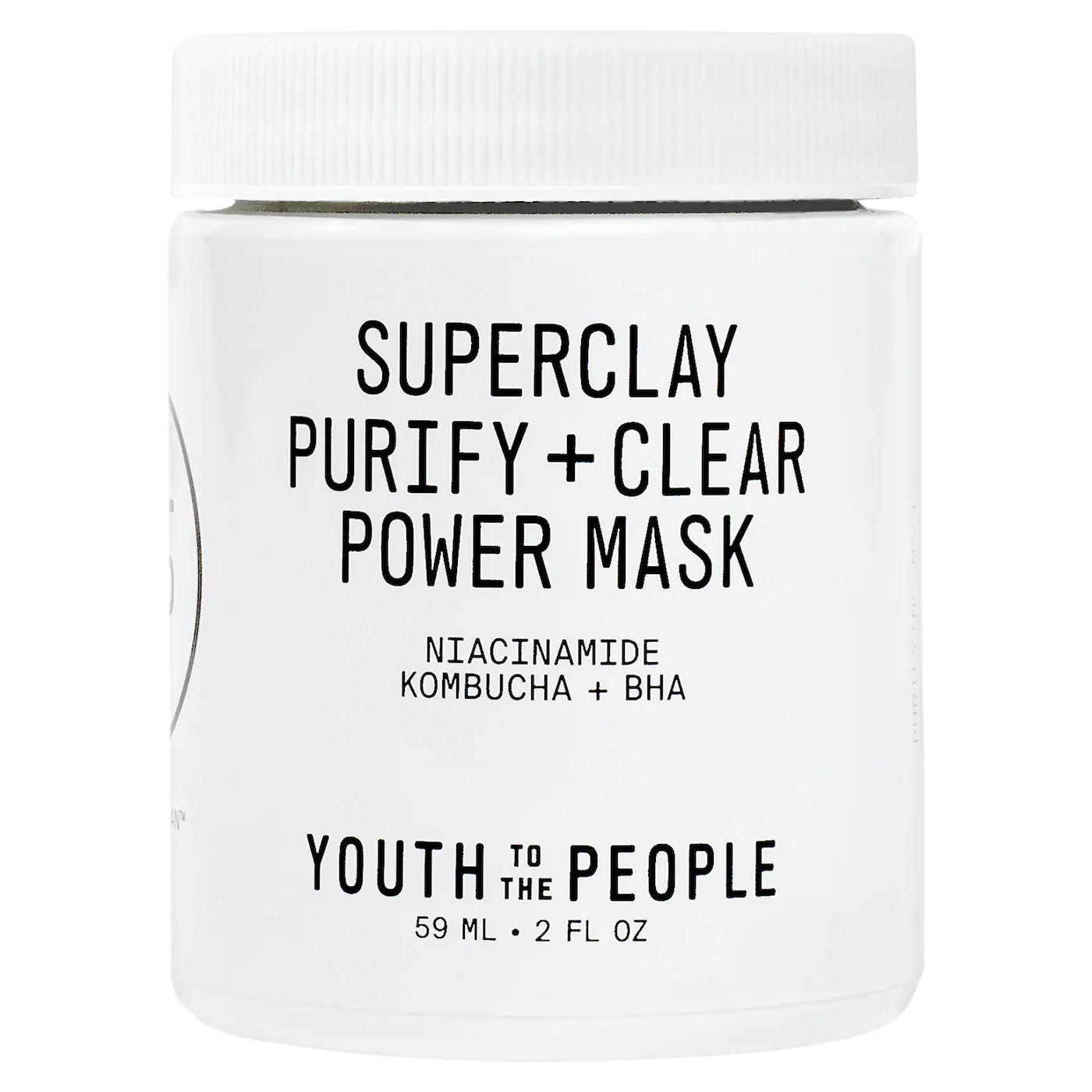 YOUTH TO THE PEOPLE Superclay Purify + Clear Power Mask, 60mL