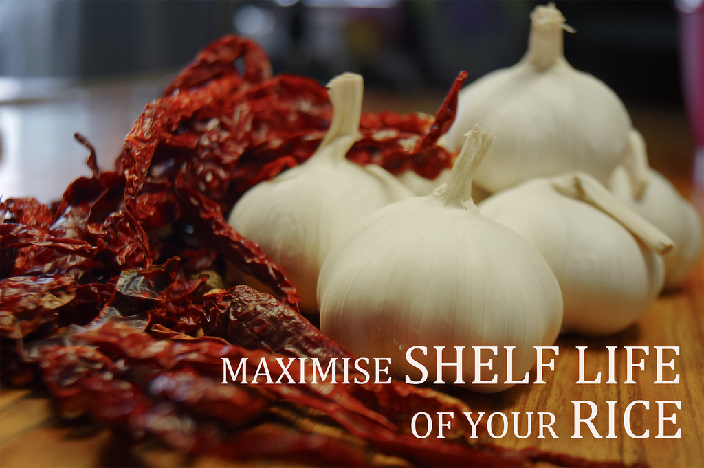 Maximising Shelf Life Of Your Rice
