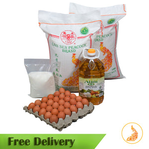 Medium Family Set ( Premium Rice )