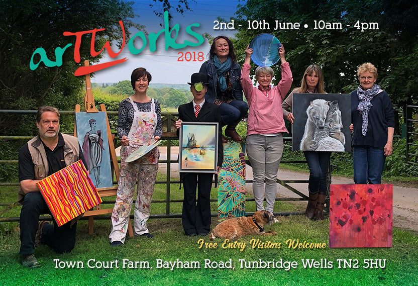 Come visit us for 'arTWorks' THE Tunbridge Wells Art Trail