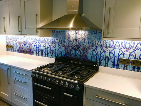 For Dramatic Effect have a Splashback, Glass Wall or Door Glass designed especially for you!