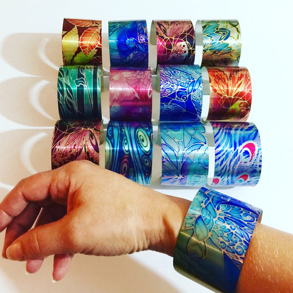 Contemporary Cuff Bracelets