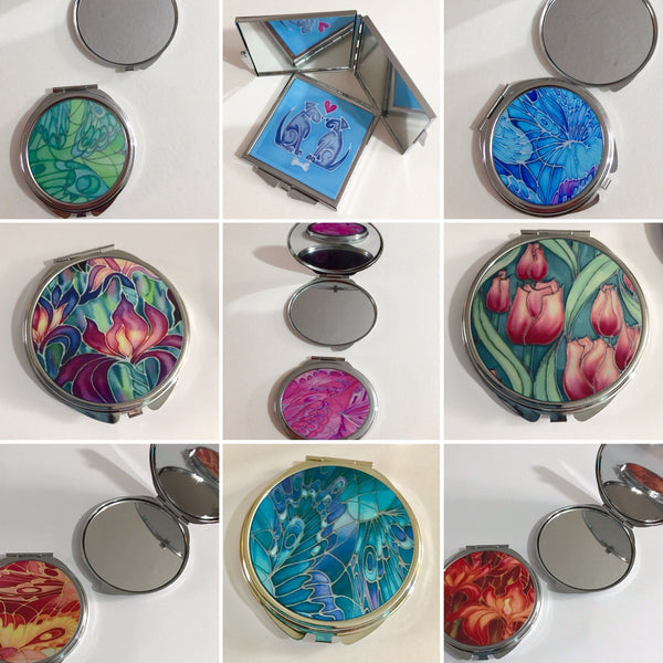 Pocket mirrors / Handbag Hangers / Coin Purses