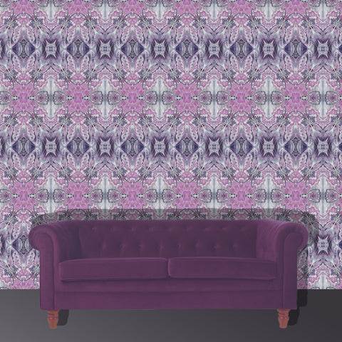 Bespoke Wallpaper by Meikie Designs - made to order contemporary wallpaper - stunning repeats in beautiful and dramatic colours