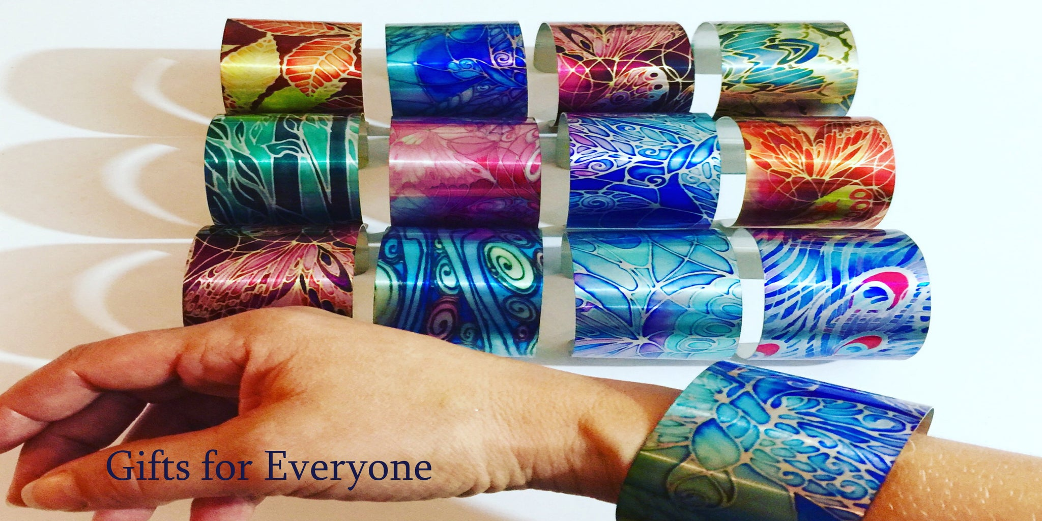 Gifts for Everyone, Bracelets, Mugs, Coasters, Glasses Cases, Phone covers, Meikie Designs