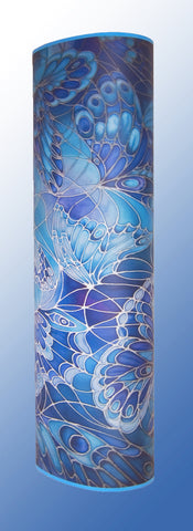 Gorgeous Blue Butterfly Lamp - Contemporary Art Lamp - Blue Butterfly Floor Lamp - Meikie