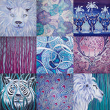 Contemporary Silk Paintings by Meikie