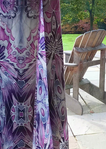Lilac Pink Grey Charcoal Butterfly Designer Luxury Velvet fabric for curtains, upholstery and soft furnishings