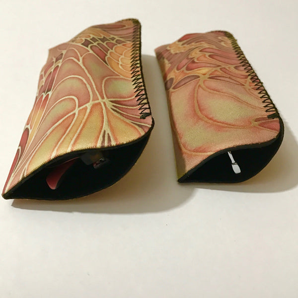 butterfly glasses case - Meikie Designs -terracotta glasses cover