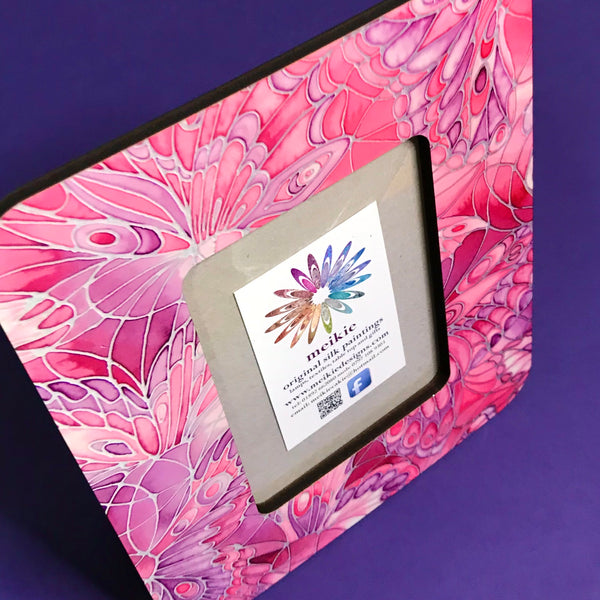 Pink Butterfly Photo Frame
