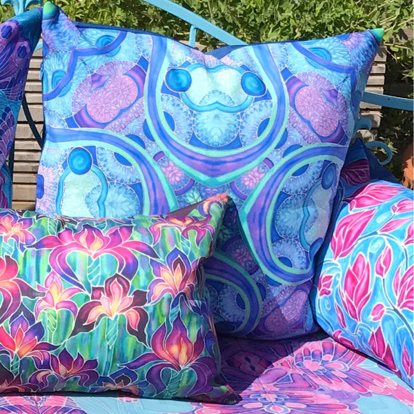 Pretty Exterior Cushions - Colourful Garden Cushions