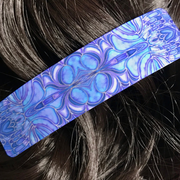 Pretty Blueberry Colour Butterfly Hair Clip