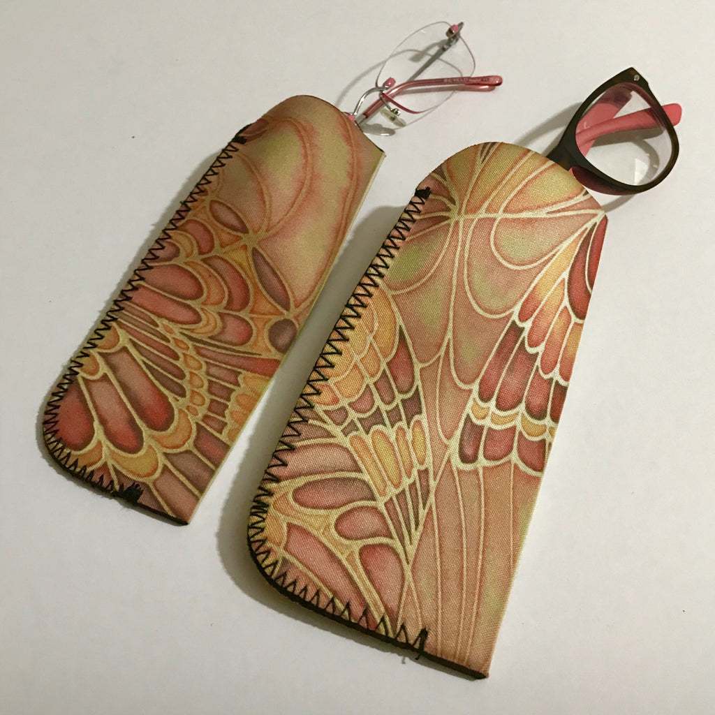 Pretty Butterfly Glasses Case - Reading Glasses Case - Meikie Designs