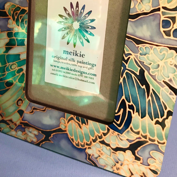 Green Butterfly Moth Photo Frame