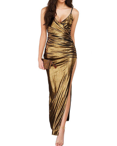 Golden Barbie Dress