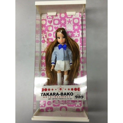Takara BAKO TOMY Licca Doll Sailor Suit Reprint First Rika chan Doll Japan