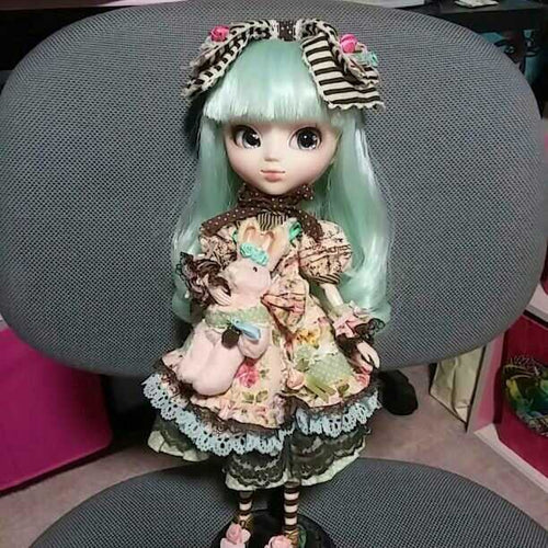 Pullip ooak custom doll Alice du Jardin Mint ver. One of a kind