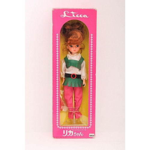 Takara TOMY Licca Doll 25th Anniversary Reprint First Rika chan Doll