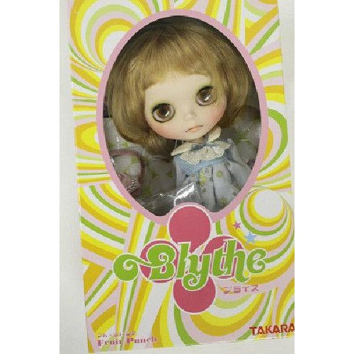 Blythe ooak custom doll Blond Mushroom hair  One of a kind