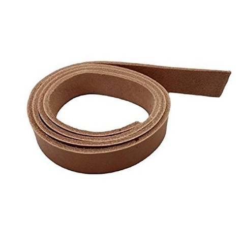 "Leather Strips 1/2"" - 13MM Width 